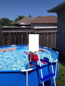 Steel Frame Pool Set by Hydro Force