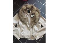 Bnwt women's size 12 new look jacket