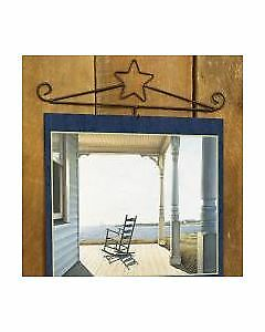 NEW! STAR Black Wrought Iron Calendar Holder