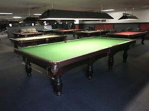REDUCED TO SELL Professional Snooker Table 6x12 $2500.00