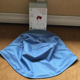 Bugaboo Donkey Sky Blue Extendable Hood, new without tags