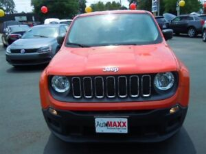 2015 JEEP RENEGADE SPORT- REAR VIEW CAMERA, BLUETOOTH, SATELLITE