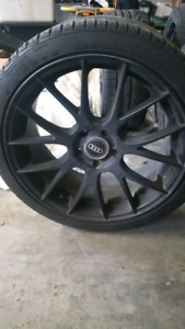 Summer/Winter rims and tires Audi VW