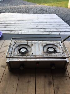 Stainless propane stove