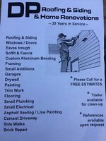 DP Roofing & Siding & Home Renovation