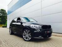 2014 14 reg BMW X5 3.0 X40d xDrive40d M Sport + PAN ROOF + M PERFORMANCE KIT