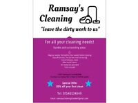 Ramsay's Cleaning Dundee, Domestic and Commercial cleaning, Competitive rates