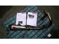 Kawasaki er6 scorpion exhaust system