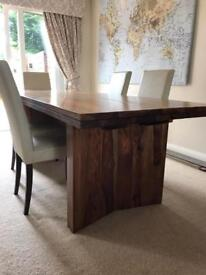 Dining Table, sideboard, bookcase & tv unit