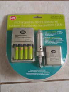 Rechargeable NiMH Battery Kit