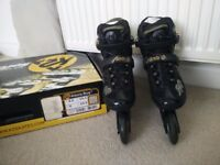 K2 Woman's alexis boa inline skates size 6 as new