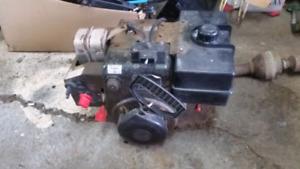 10 hp John Deere  snowblower engine