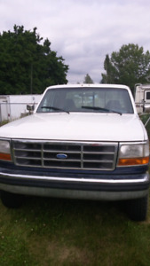 1994 Ford F250 truck