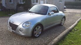 Daihatsu Copen turbocharged two seater sports car with power hard top in excellent condition