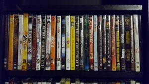 200+ DVDs for Sale (Both New and Used)