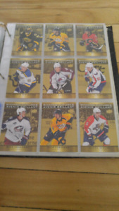 Cartes hockey collection complète Tim Horton  15-16