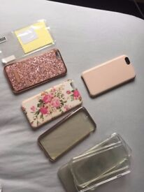 9 iPhone 6 Cases- including a Rose Gold Skinny Dip Case and Free Screen Protector!