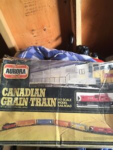 Vintage Canadian Grain Train Set