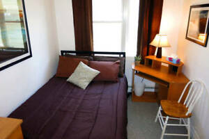8-month lease Furnished bedroom (Sep-May), includes everything