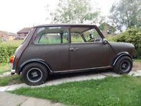 1980 Classic Mini 1000, 11 months MOT, ready to drive away