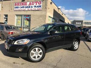 2010 Volvo XC60 3.2 AWD|CITY SAFETY PKG|BLINDSPOT