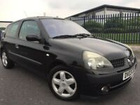 2003 Renault Clio 1.2 Dynamique Low miles cheap run and insure ideal first car