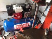 Honda 110ltr petrol air compressor