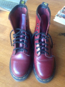 Cherry Red Dr Martens Size 5-5.5