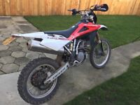 Husqvarna te450 road legal 2007