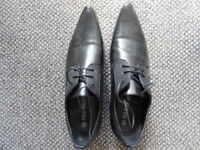 men winklepicker shoes worn once for wedding size8 polo maldini lace up