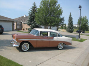 Classic 1956 Chevrolet Coppertone/white