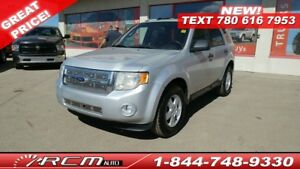 2012 Ford Escape XLT SATELLITE RADIO 5 SPEED MANUAL