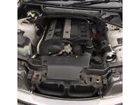BMW e46 2.5l engine complete