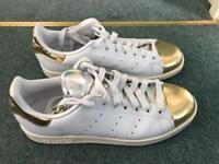 Adidas Stan Smith Gold Tip RARE