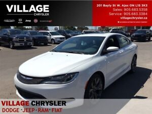 2016 Chrysler 200 S|NAV|Leather|Panosunroof|Remote|Backup Cam