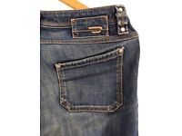 VINTAGE DIESEL jeans size 28_ IN MINT CONDITION
