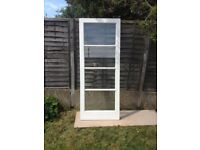 Internal glazed door , used but in excellant condition