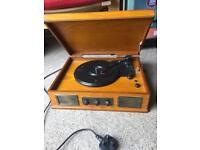 Steepletone vinyl player (USB Norwich model)