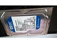 WESTERN DIGITAL 250GB SATA HARD DRIVE