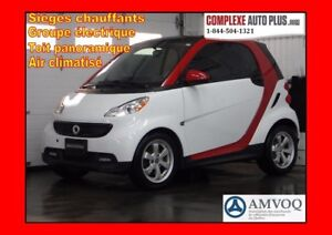 2015 Smart fortwo Pure *Style package! Superbe look, Toit vitré