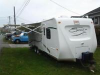 Rent Camp (24 Ft) Trailer 675$/Wk