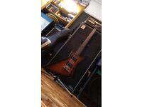 Gibson Explorer bass guitar 2011 with thunderbird pickups
