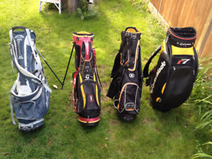Assorted Golf Bags