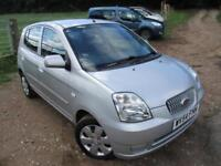 2004 KIA PICANTO LX ONLY 10,850 MILES FROM NEW !!!! HATCHBACK PETROL