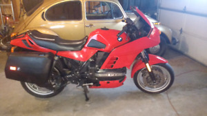 1991 BMW K100rs 4v  new paint well maintained + moped read Ad