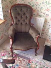 Victorian Spoonback Chairs