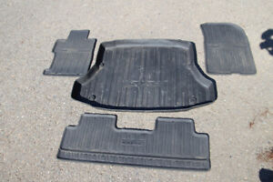 Honda Civic floor mats and trunk tray for sale