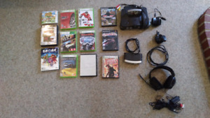 PC, PS2, X360, 3DS games. N64 console. Headset.