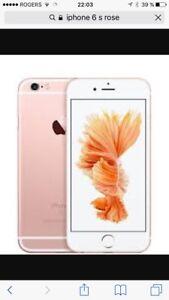 Iphone 6s rose en parfait etat 64g