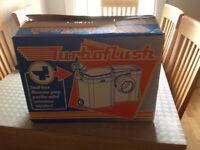 Turbo flush Macerator new.